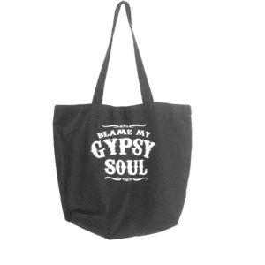 Gypsy Soul Cotton Tote Bag